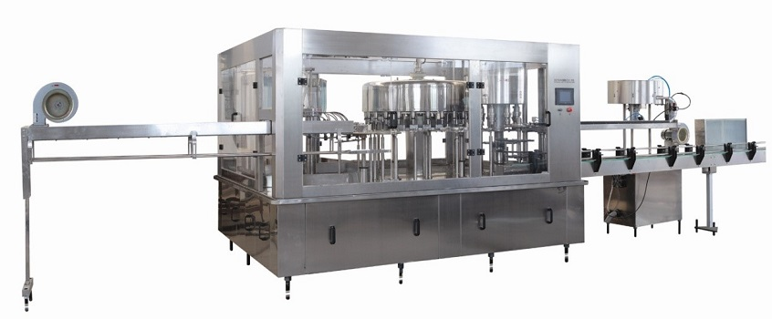 Carbonated Beverages Filling Machine in India